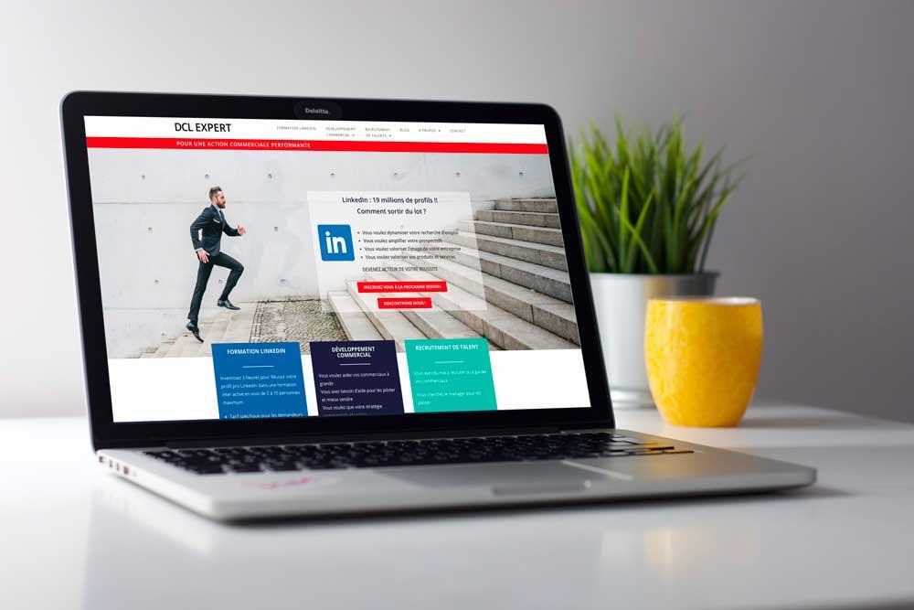 lancement site internet DCL Expert